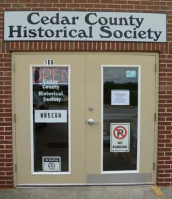 Cedar County Historical Society