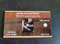 Arnica Iron and Wood